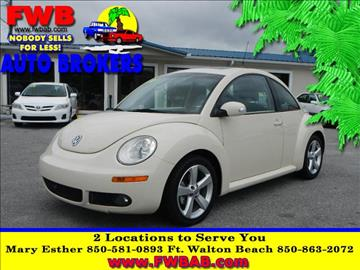 2006 Volkswagen New Beetle for sale in Mary Esther, FL
