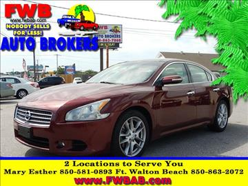 2009 Nissan Maxima for sale in Mary Esther, FL