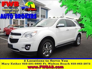 2012 Chevrolet Equinox for sale in Mary Esther, FL