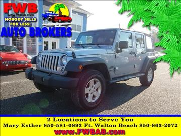 2014 Jeep Wrangler Unlimited for sale in Mary Esther, FL