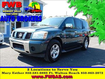2004 Nissan Armada for sale in Mary Esther, FL