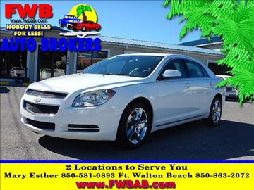 2010 Chevrolet Malibu for sale in Mary Esther, FL