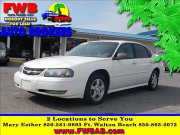 2005 Chevrolet Impala for sale in Mary Esther, FL