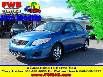 2009 Toyota Corolla for sale in Mary Esther, FL