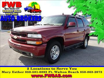 2006 Chevrolet Tahoe for sale in Mary Esther, FL