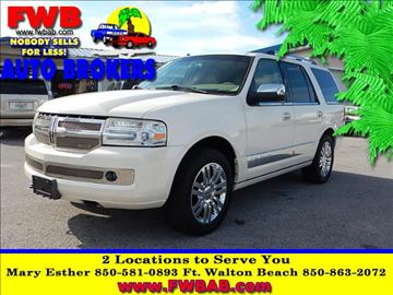 2007 Lincoln Navigator for sale in Mary Esther, FL