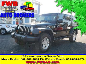 2012 Jeep Wrangler Unlimited for sale in Mary Esther, FL