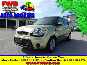 2013 Kia Soul for sale in Mary Esther, FL