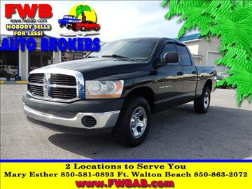 2006 Dodge Ram Pickup 1500 for sale in Mary Esther, FL