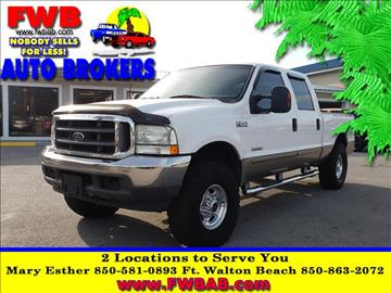 2003 Ford F-250 Super Duty for sale in Mary Esther, FL