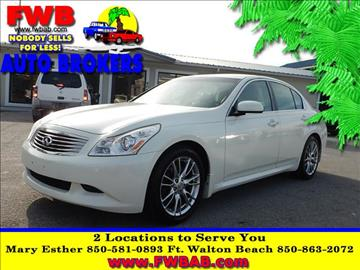 2007 Infiniti G35 for sale in Mary Esther, FL