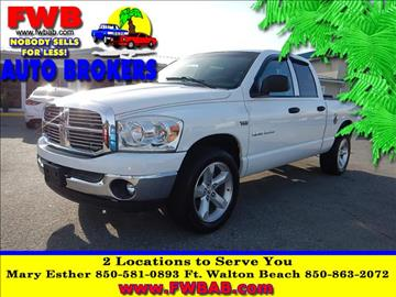 2007 Dodge Ram Pickup 1500 for sale in Mary Esther, FL