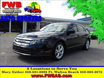 2012 Ford Fusion for sale in Mary Esther, FL