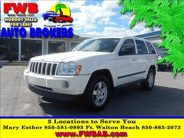 2007 Jeep Grand Cherokee for sale in Mary Esther, FL