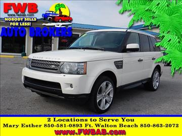 2010 Land Rover Range Rover Sport for sale in Mary Esther, FL