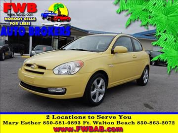 2009 Hyundai Accent for sale in Mary Esther, FL