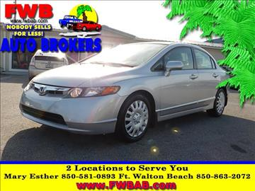 2008 Honda Civic for sale in Mary Esther, FL