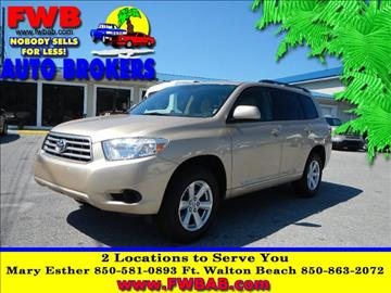 2008 Toyota Highlander for sale in Mary Esther, FL
