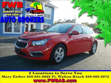 2016 Chevrolet Cruze Limited for sale in Mary Esther, FL