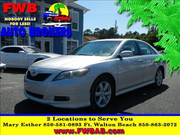 2008 Toyota Camry for sale in Mary Esther, FL