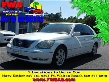 2005 Lexus LS 430 for sale in Mary Esther, FL