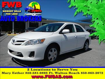 2013 Toyota Corolla for sale in Mary Esther, FL