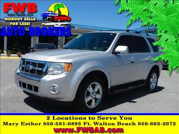2011 Ford Escape for sale in Mary Esther, FL