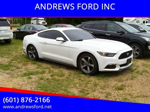 2015 Ford Mustang for sale in Tylertown, MS