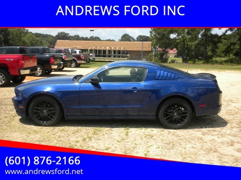 2014 Ford Mustang for sale in Tylertown, MS