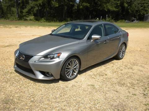 2014 Lexus IS 250 for sale in Tylertown, MS