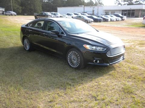 2016 Ford Fusion for sale in Tylertown, MS