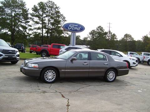 2004 Lincoln Town Car for sale in Tylertown, MS