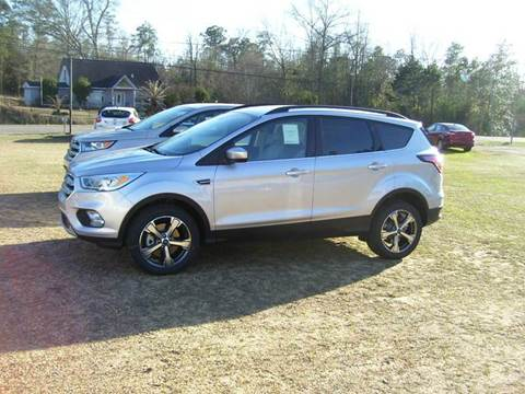 2017 Ford Escape for sale in Tylertown, MS