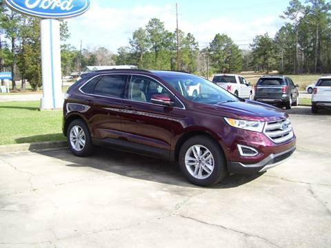 2017 Ford Edge for sale in Tylertown, MS