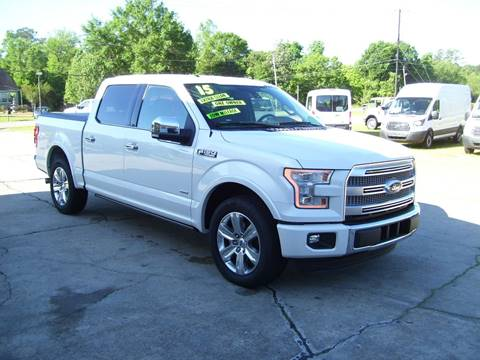 2015 Ford F-150 for sale in Tylertown, MS