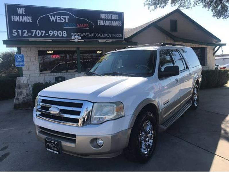 Ford Expedition El For Sale At West Auto Sales In Austin Tx