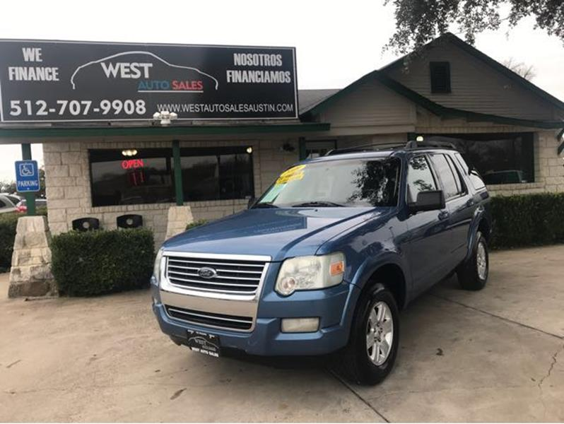Ford Explorer For Sale At West Auto Sales In Austin Tx