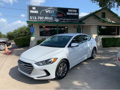 2018 Hyundai Elantra for sale in Austin, TX