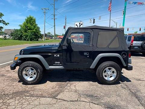2003 Jeep Wrangler for sale in Beaver Creek, OH