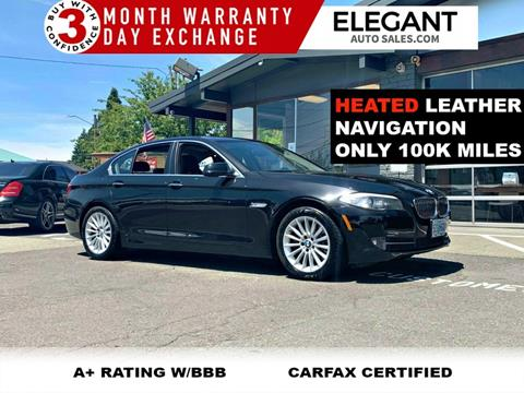 2013 BMW 5 Series for sale in Beaverton, OR