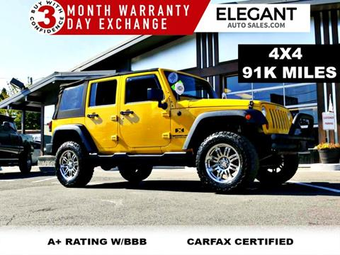 2009 Jeep Wrangler Unlimited for sale in Beaverton, OR