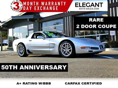 2003 Chevrolet Corvette for sale in Beaverton, OR