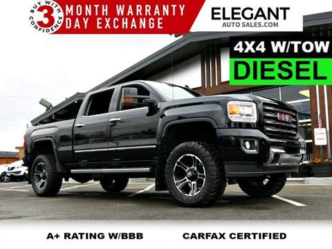 Diesel Pickup Trucks For Sale >> 2015 Gmc Sierra 3500hd For Sale In Beaverton Or