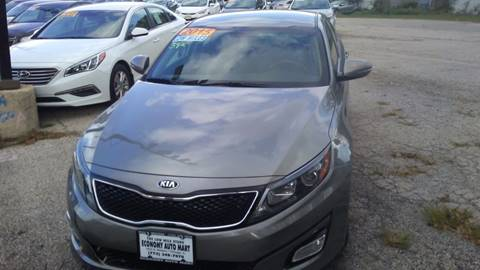 2015 Kia Optima for sale at ECONOMY AUTO MART in Chicago IL