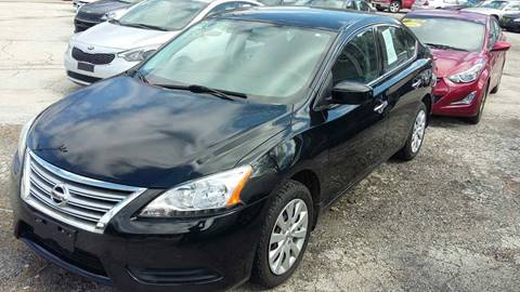 2015 Nissan Sentra for sale at ECONOMY AUTO MART in Chicago IL