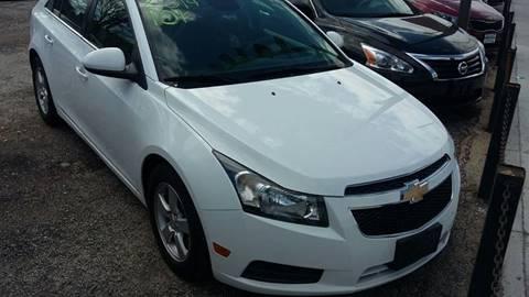 2014 Chevrolet Cruze for sale at ECONOMY AUTO MART in Chicago IL