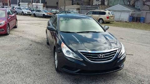 2015 Hyundai Sonata for sale at ECONOMY AUTO MART in Chicago IL