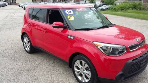 2014 Kia Soul for sale at ECONOMY AUTO MART in Chicago IL