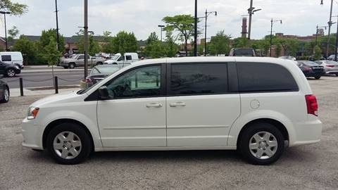 2014 Dodge Caravan for sale at ECONOMY AUTO MART in Chicago IL