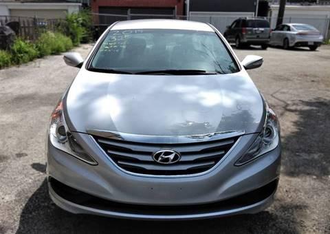 2014 Hyundai Sonata for sale at ECONOMY AUTO MART in Chicago IL